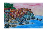 Manarola A Cinque Terre Dream Photographic Print by Markus Bleichner