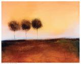 Tres árboles Arte por V. Giordano