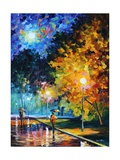 Blue Moon Photographic Print by Leonid Afremov