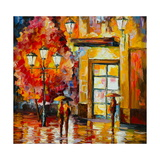 The Meeting Photographic Print by Leonid Afremov
