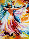 Dance Waltz Photographic Print by Leonid Afremov