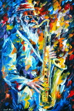 Sonny Rollins Photographic Print by Leonid Afremov