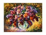 Spring Lilac Poster by Leonid Afremov