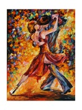 In the Rhythm of Tango Fotografisk trykk av Leonid Afremov