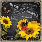 Marché aux tournesols Art by Bruno Pozzo