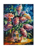 Flowers Photographic Print by Leonid Afremov