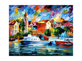 Beyond The Sea Print by Leonid Afremov