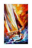 Into The Sea Fotografisk trykk av Leonid Afremov
