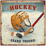 Hockey Prints by Bruno Pozzo