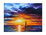 Touch of Horizon Photographic Print by Leonid Afremov