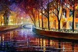 Misty Melody Photographic Print by Leonid Afremov