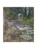 Terrace, Mas De La Rose Giclee Print by Susan Ryder