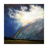 Other Side of the Rainbow, 2014 Giclee Print by Helen White