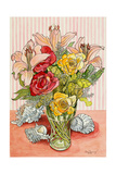 Roses, Lillies and Shells, 2008 Giclee Print by Joan Thewsey