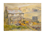 Moorland Cottage Giclee Print by Joan Thewsey