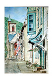 Race St., Jim Thorpe, Pa., 2013 Giclee Print by Anthony Butera