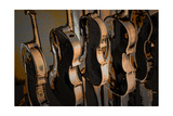 Handcrafted, from the Series Woodbridge Violins, 2016 Giclee Print by Alice Gur-Arie
