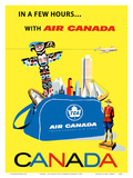 Canada - Air Canada TCA (Trans-Canda Air Lines) Prints by Roberto Floreani