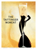 The Taittinger Moment - Champagne Advertisement featuring actress Grace Kelly Posters by Claude Taittinger