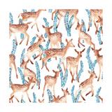 Bambis, 2016 Giclee Print by Varpu Kronholm