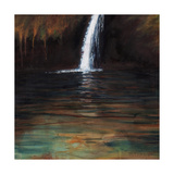 Waterfall III, 2016 Giclee Print by Helen White