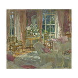 Morning Room Sunlight Giclee Print by Susan Ryder