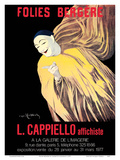 Folies Bergère - Art Exhibition of Leonetto Cappiello Posters - Mime Severin (1863-1930) Posters by Leonetto Cappiello