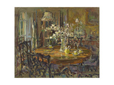 The Small Dining Room Giclee Print by Susan Ryder