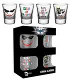Batman - The Dark Knight Shot Glass Set Gadgets