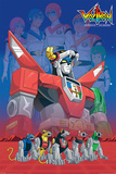Voltron- Original Defender Of The Universe Poster