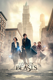 Fantastic Beasts- The Streets Of New York Plakater