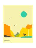 Yosemite Valley,Yosemite National Park Prints by Jazzberry Blue