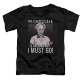 Toddler: I Love Lucy- The Chocolate Is Calling T-Shirt