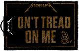 Metallica - Dont Tread On Me Door Mat Neuheit