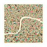 London Map Posters by Jazzberry Blue