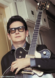 Roy Orbison- Gretsch Guitar, London 1967 Affiches