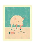 Broken Premium Giclee Print by Jazzberry Blue