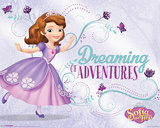 Sofia The First- Dreaming Of Adventure Poster