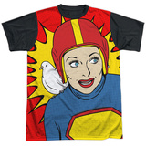 Lucy- Super Lucy Black Back Camiseta