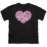 Youth: I Love Lucy- Many Facess Logo T-shirts