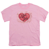 Youth: I Love Lucy-Classic Logo Shirt