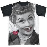 I Love Lucy- Timeless Black Back Camiseta