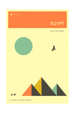 Visit Egypt Posters by Jazzberry Blue
