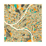 Pittsburgh Map Posters by Jazzberry Blue