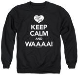 Crewneck Sweatshirt: I Love Lucy - Keep Calm Waaa Shirts