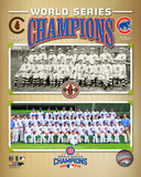 Chicago Cubs 1908 & 2016 World Series Champions Composite Photo