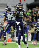 Doug Baldwin & Richard Sherman 2016 Action Photo