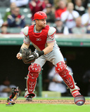 Tucker Barnhart 2016 Action Photo