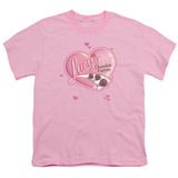 Youth: I Love Lucy-Chocolate Smudges T-shirts
