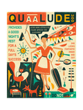 Q is for Quaalude Prints by Jazzberry Blue